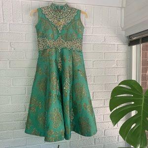 Vtg Party Dress
